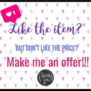Make me an offer! 💕